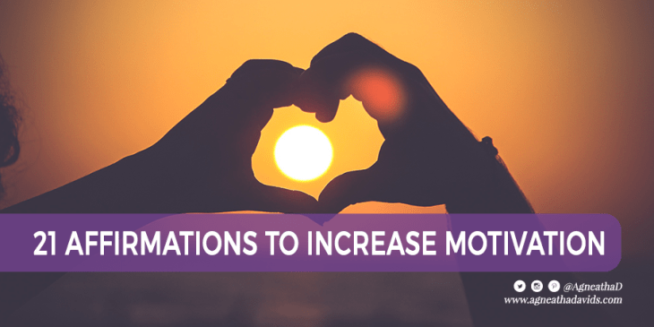 21 Affirmations to Increase Motivation