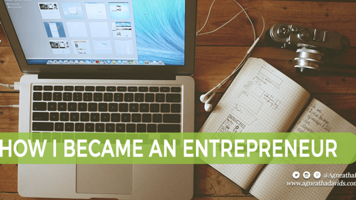 How I Became an Entrepreneur