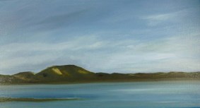 Dunes from the Herring River 12x24oil
