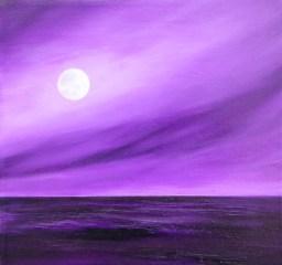 Purple Haze 12x12 oil