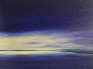Evening Peace 30 x 40 oil