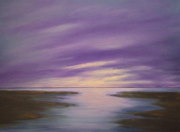 Twilight 18 x 24 oil