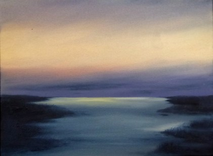 Last Light 12 x 16 oil