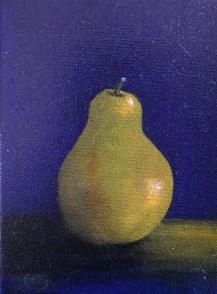 Pear 8 x 6 oil