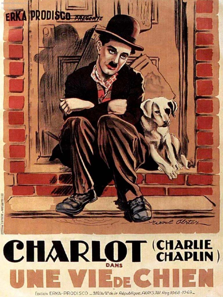 """affiche originale du film """"Une vie de Chien"""""""