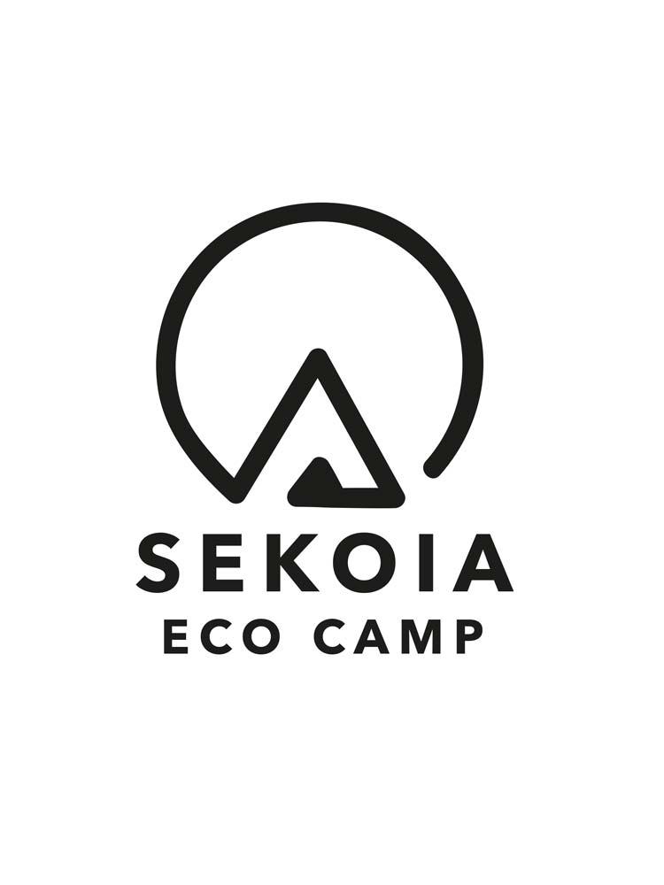Logotype de l'identité visuelle réalisée pour SEKOIA Eco camp