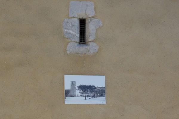 panneau extérieur réalisé pour la Mairie de Ribiers
