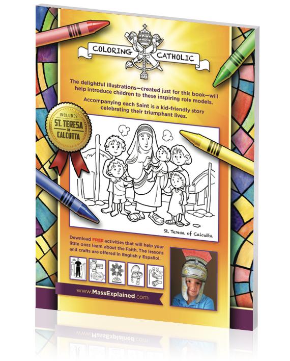 32 Courageous Catholic Saints Coloring Book – Agnus Giftshop
