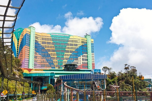 Genting Highlands_theme park_resort mountain view