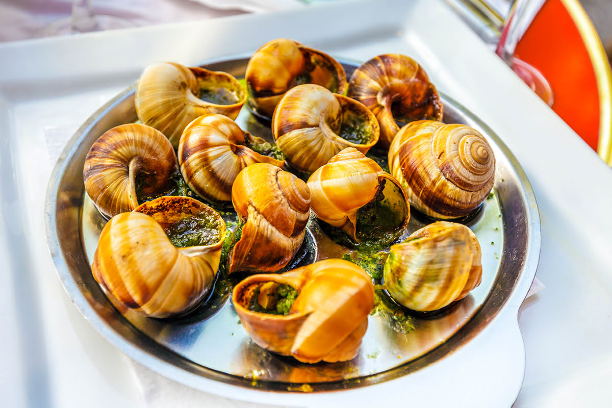 Best restaurants in Paris-Escargot