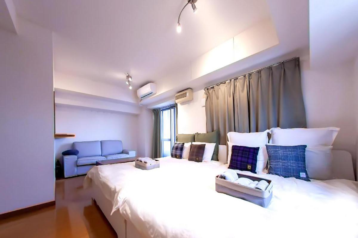 Family hotels in Tokyo-Apartment in Shinjuku-20-LoS-1