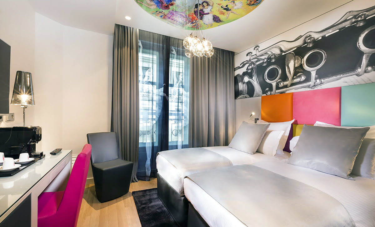 Paris attractions-travel France-Lyric Hotel Paris Opera
