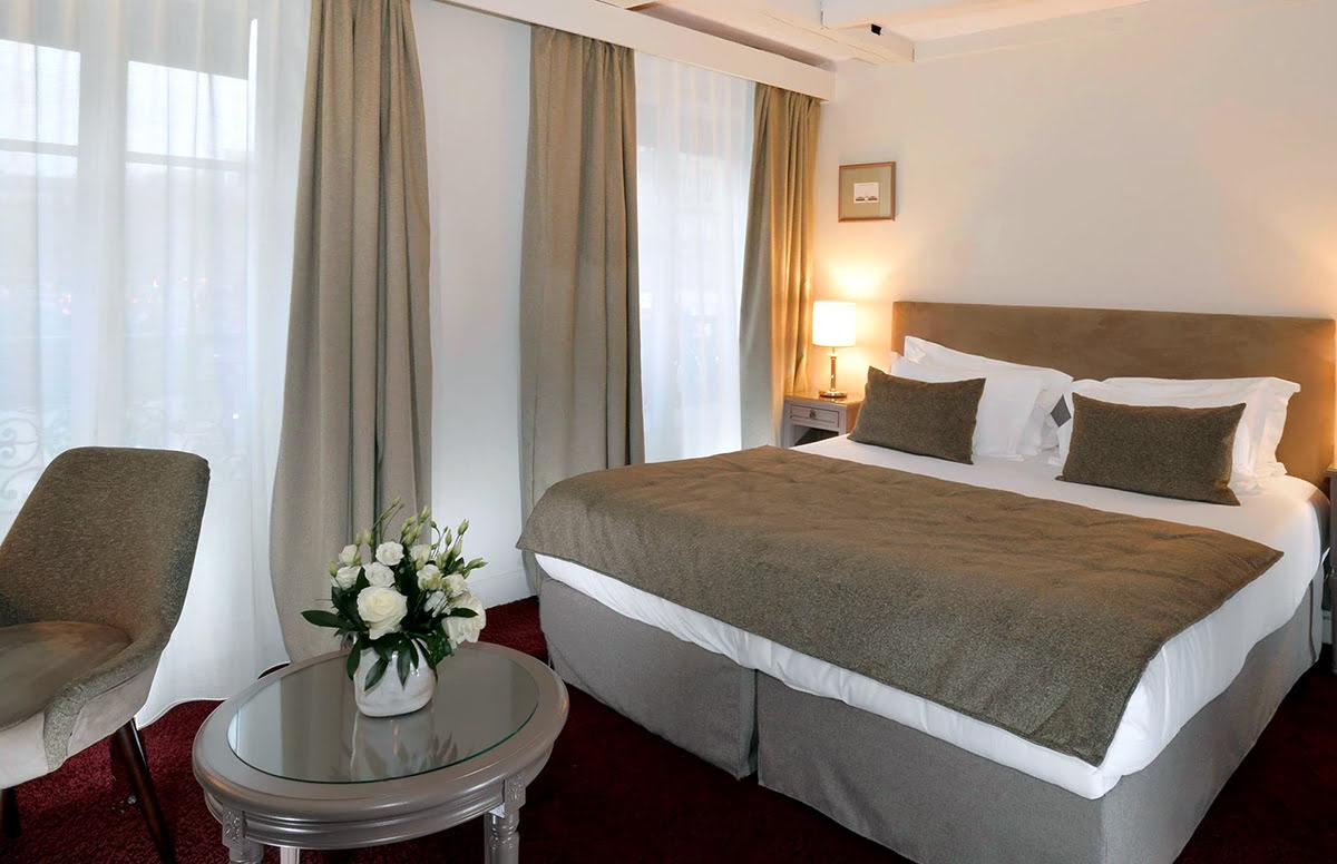 Paris attractions-travel France-Madeleine Plaza Hotel