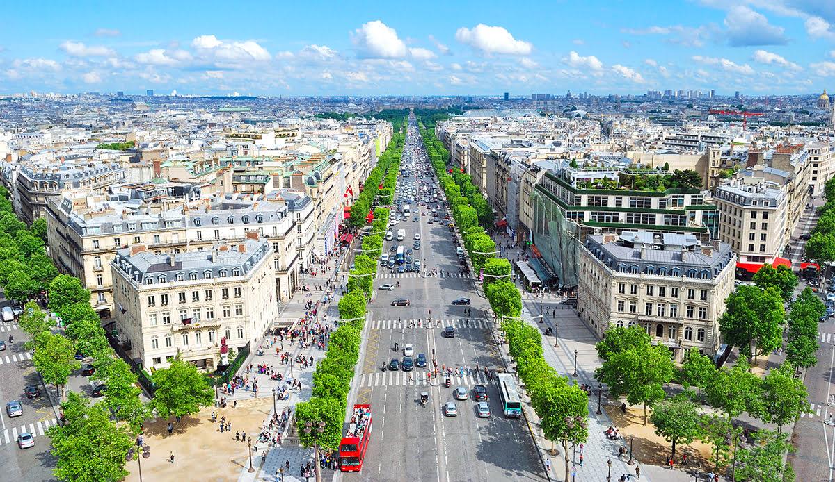 Paris shopping-France-Champs-Elysees
