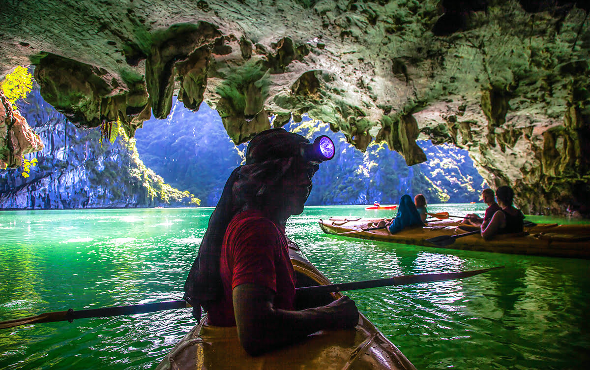 Caving vacations-spelunking tours-caving tours-spelunking trips