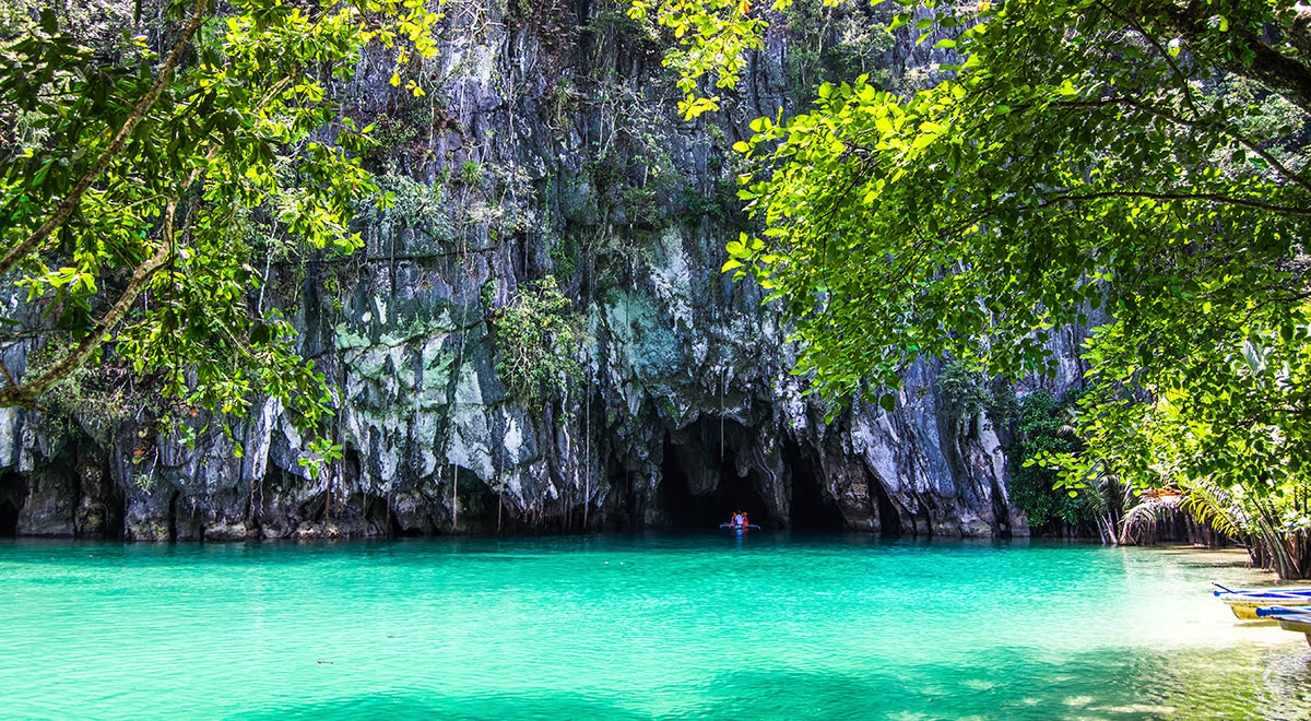 Caving vacations-spelunking tours-Puerto Princesa Subterranean River National Park