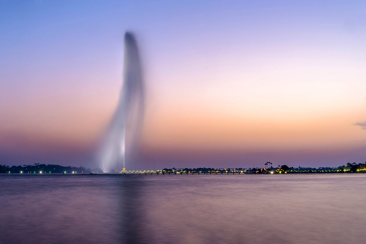 Jeddah day trips-King Fahd's Fountain