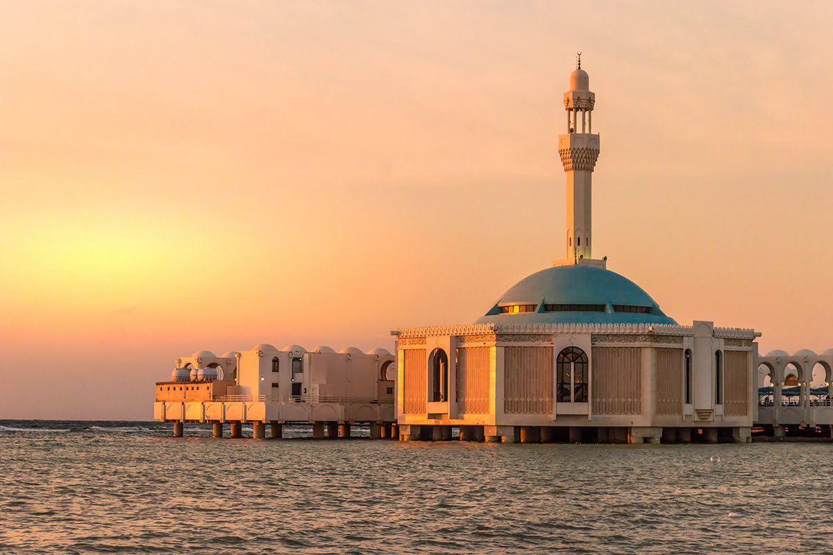 Jeddah travel tips-Floating Mosque