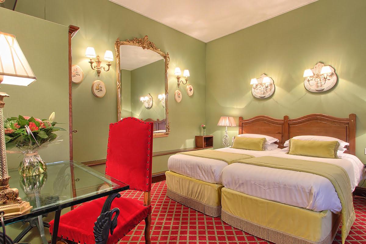 Latin Quarter-Paris-Hotel des Marronniers