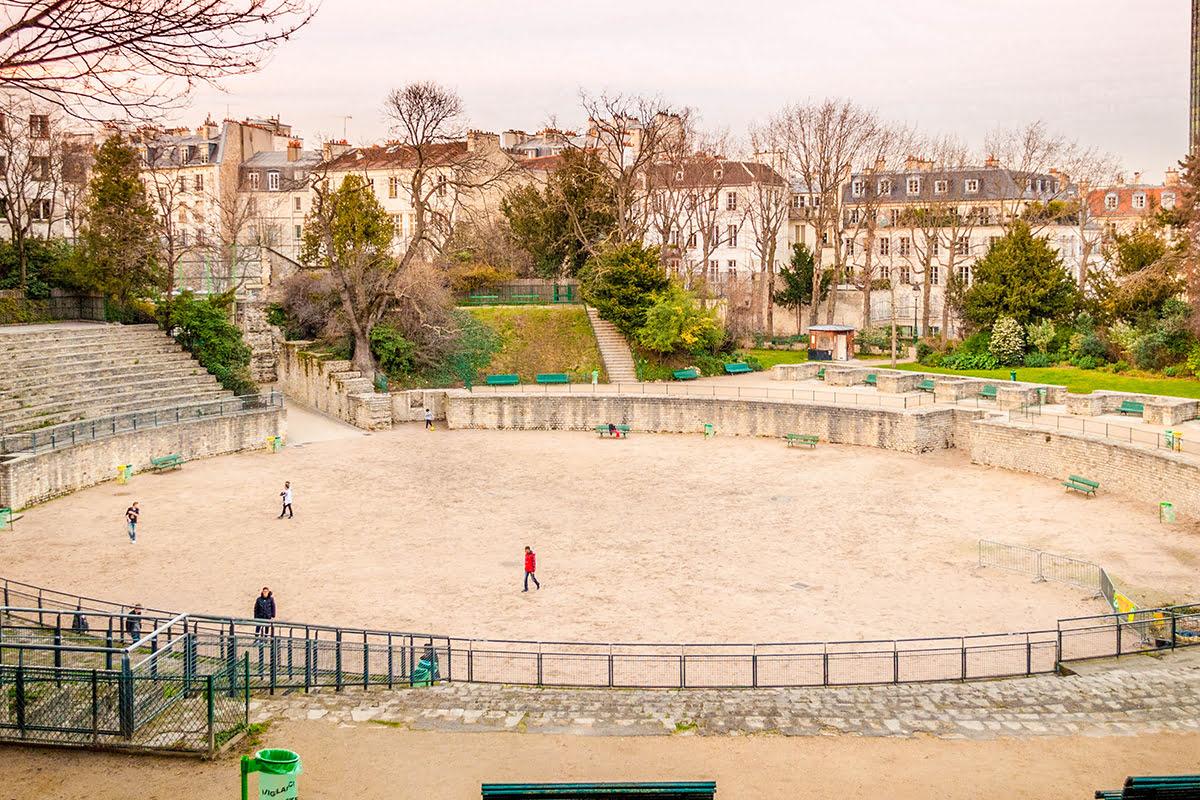 Latin Quarter-Paris-Lutetia Arena Archeological Site