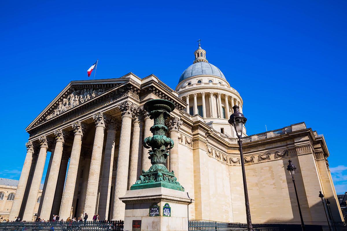 Latin Quarter-Paris-Pantheon