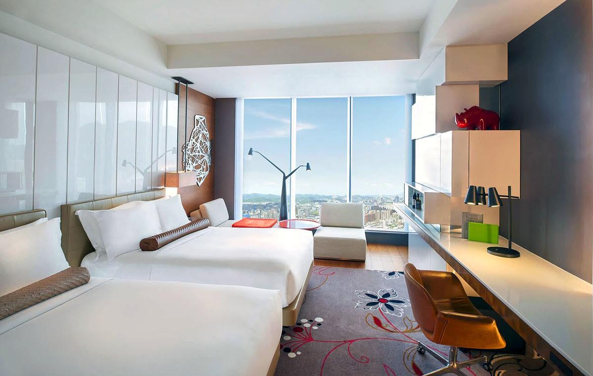 Luxury hotels in Taipei-Taiwan-W Taipei