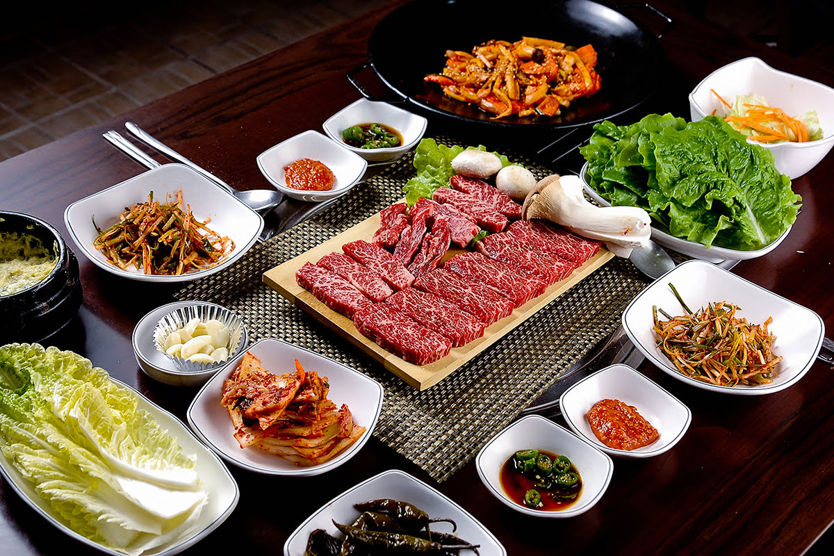 Seoul Food-Korean BBQ-family style