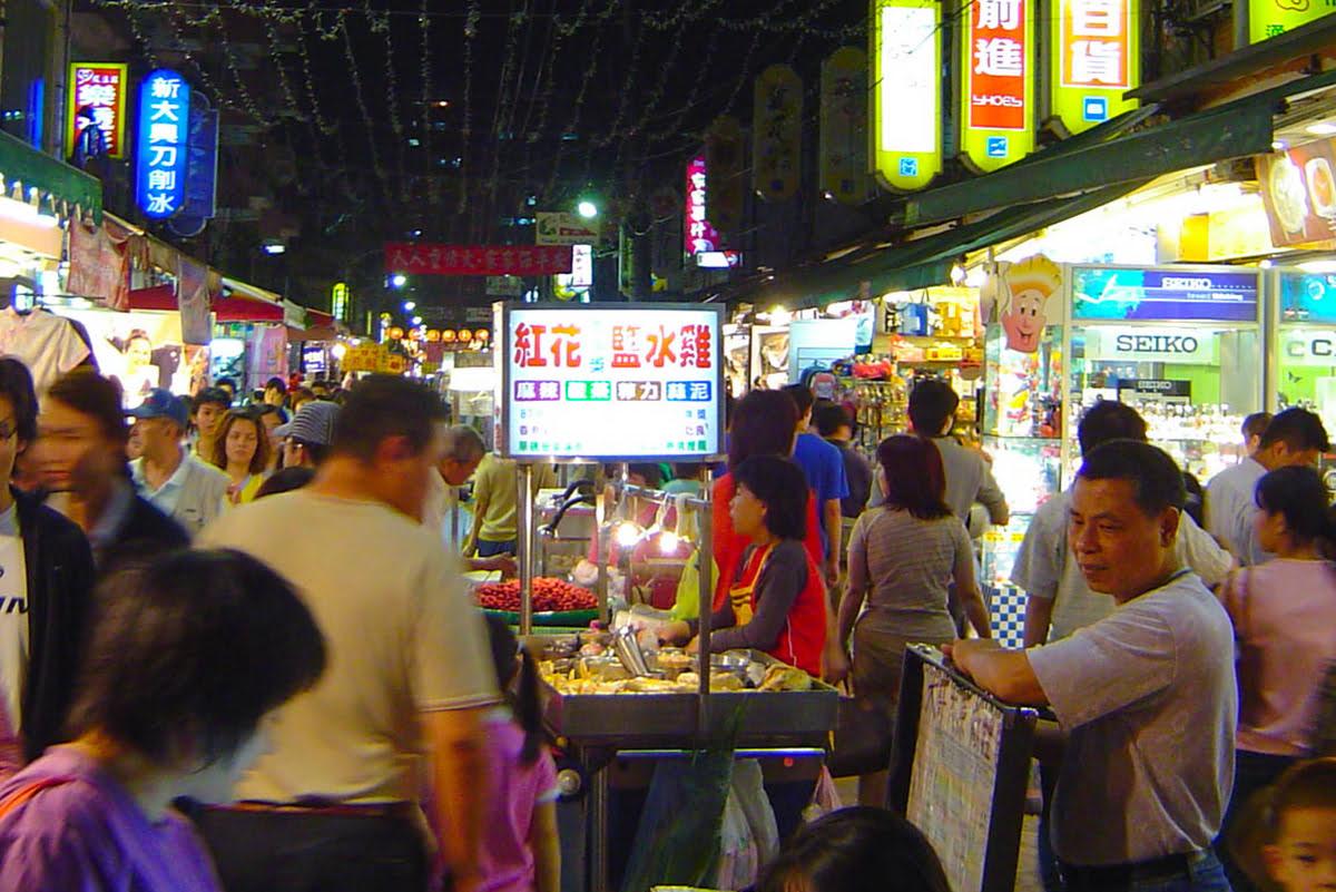 Taipei night market-shopping-Japan-Tonghua Night Market