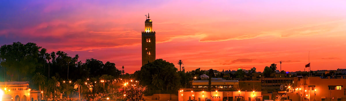Things to do in Marrakech-Morocco-Featured photo-Marrakech sunset