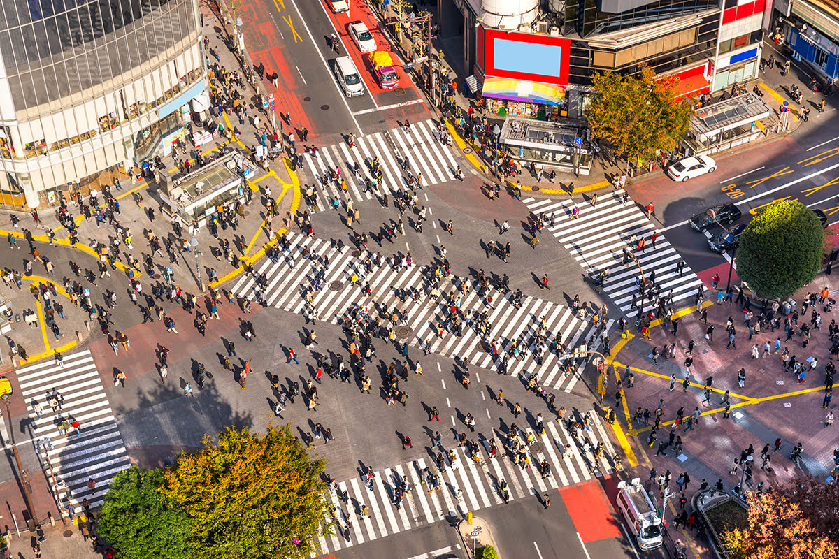 Tokyo food-what to eat-Japan-Shibuya Crossing