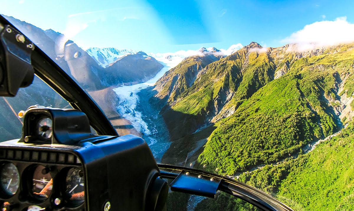直升机旅行-福克斯冰川