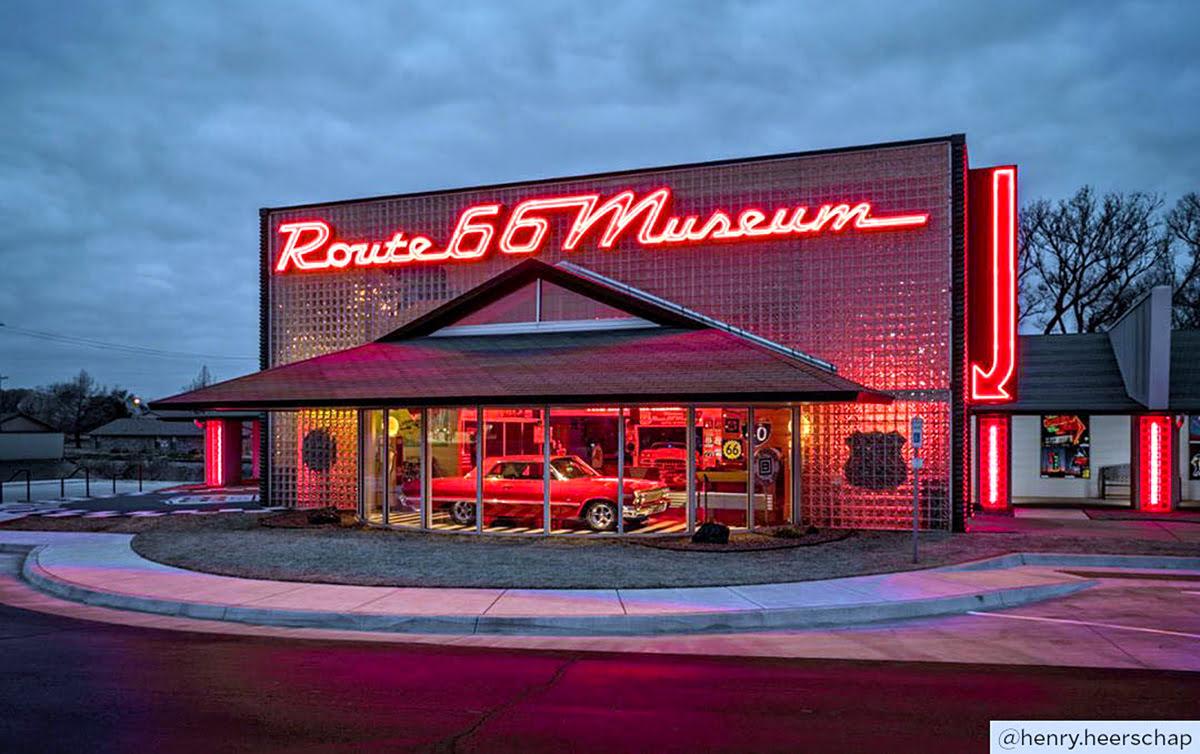 世界最佳目的地-66號公路博物館-奧克拉荷馬克林頓鎮