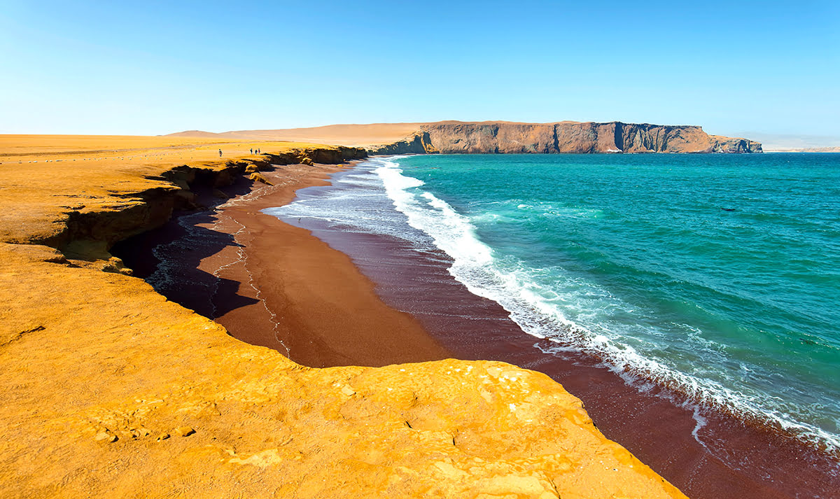 Hiking in Peru-treks-Paracas National Reserve-beaches