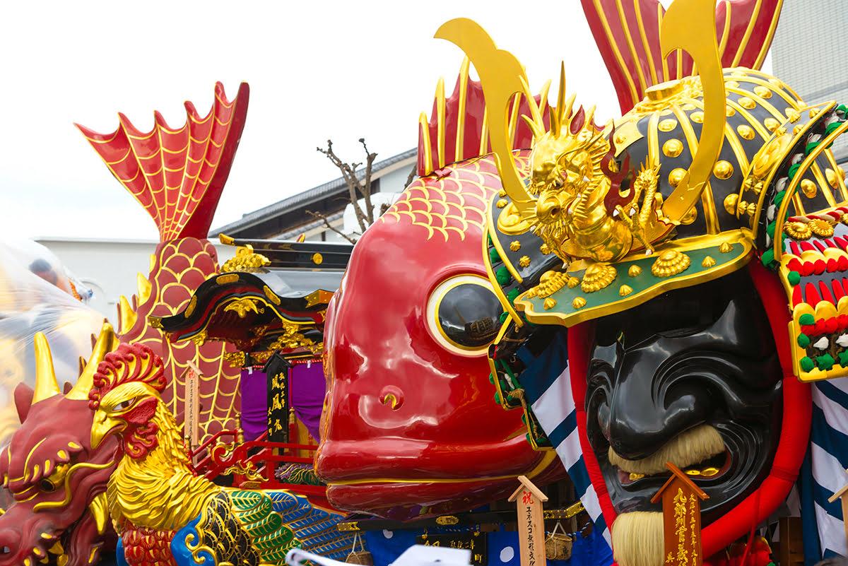 Best time to visit Kyushu-Karatsu Kunchi Festival