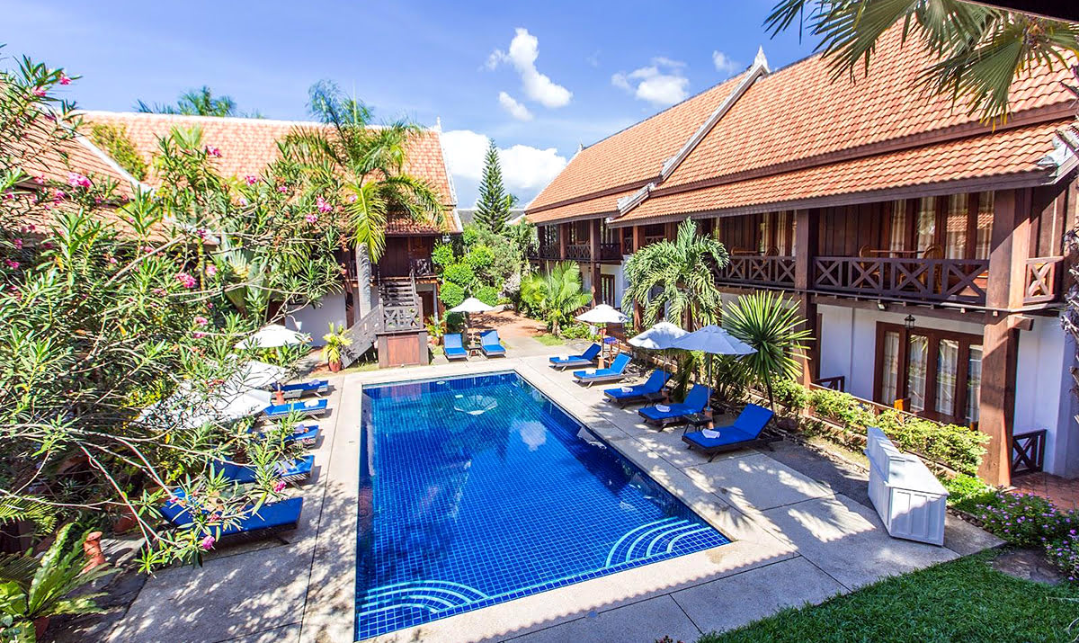 Hotels in Luang Prabang-Laos-Muangthong Boutique Hotel