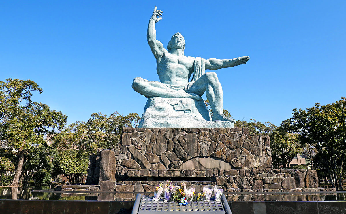 Kyushu itinerary-Nagasaki-hot springs-Nagasaki Peace Park