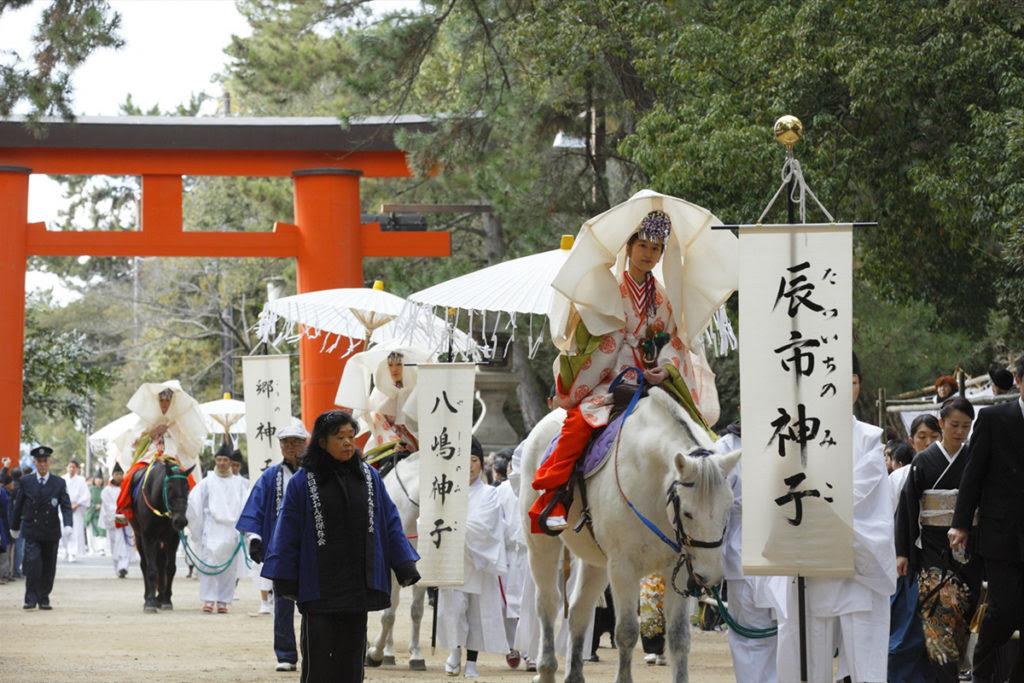Nara events-Kasugawakamiya-Maiden