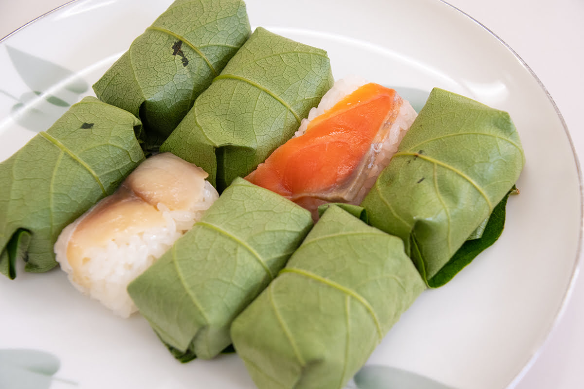 Nara food-Kakinoha Sushi