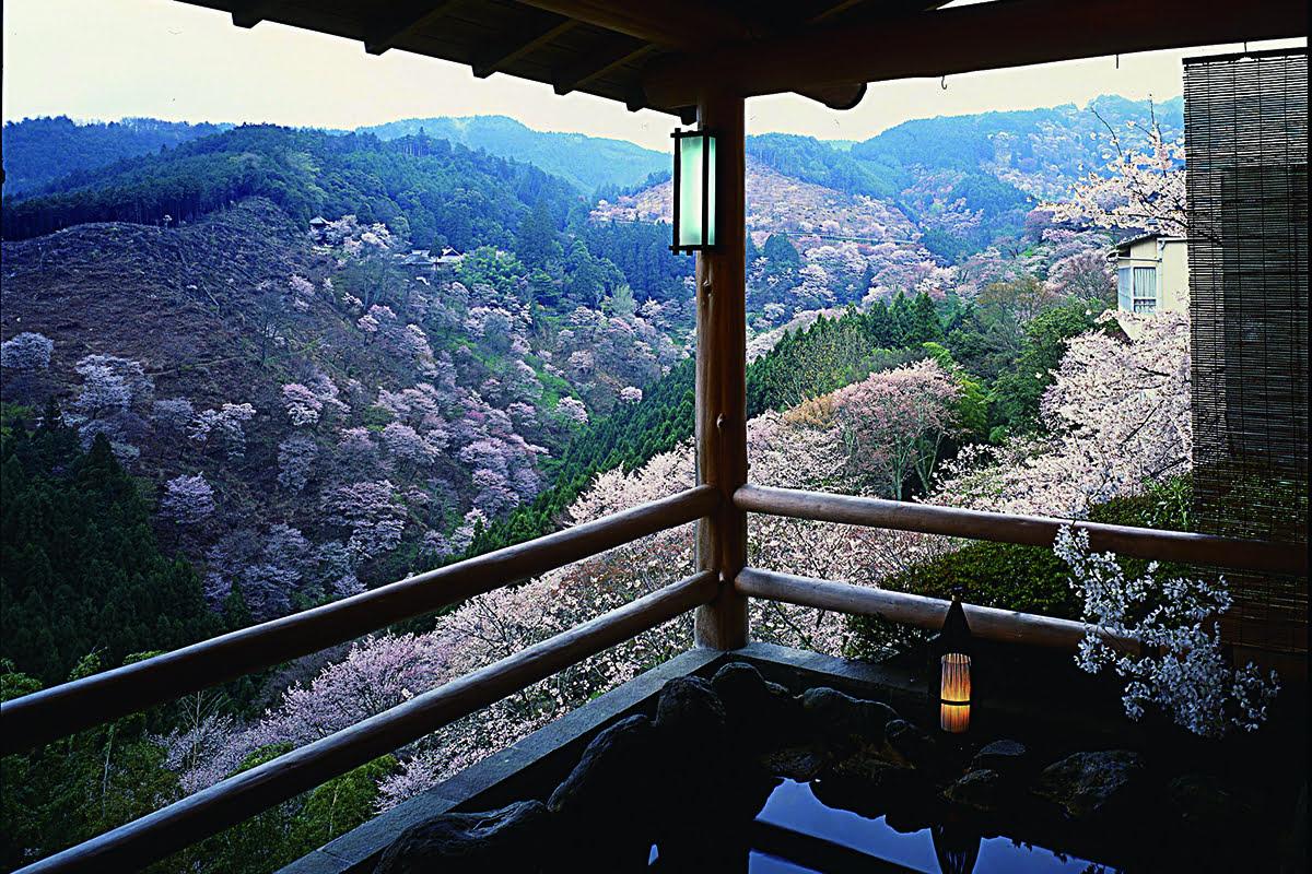Nara hot springs-Japanese baths-Houno Ya-Yumoto Hounoya