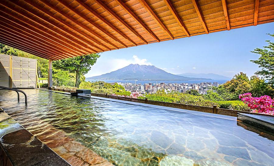 Hotels in Kyushu-4-day-itinerary-SHIROYAMA HOTEL kagoshima