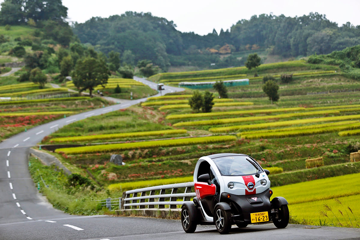 Things to do in Nara-Drive a Michimo Car