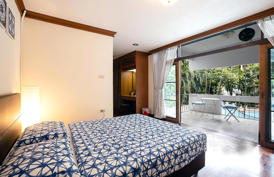 Bangkok holiday homes-BTS stations-where to stay-Thailand-4BRs, Entire Fl,City Centre