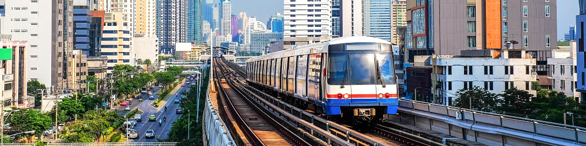 Featured photos-Skytrain with city view-rental homes-Bangkok-BTS