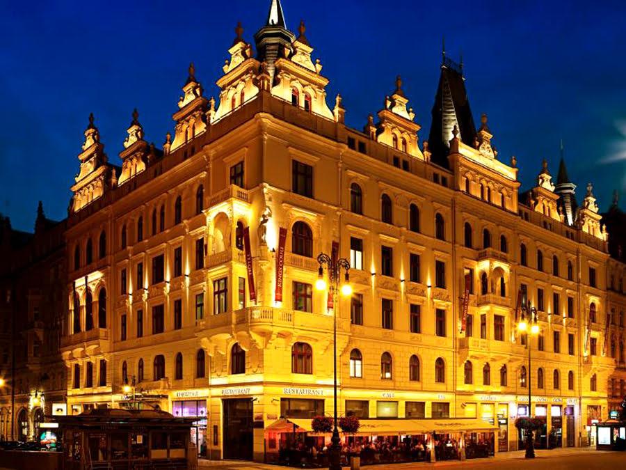 ที่พักในปราก-Hotel Kings Court