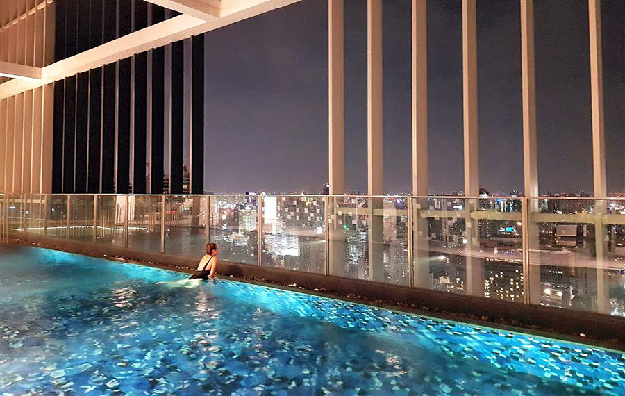 Bangkok holiday homes-BTS stations-where to stay-Thailand-Sukhumvit In The Park BTS PhromPhong Cozy