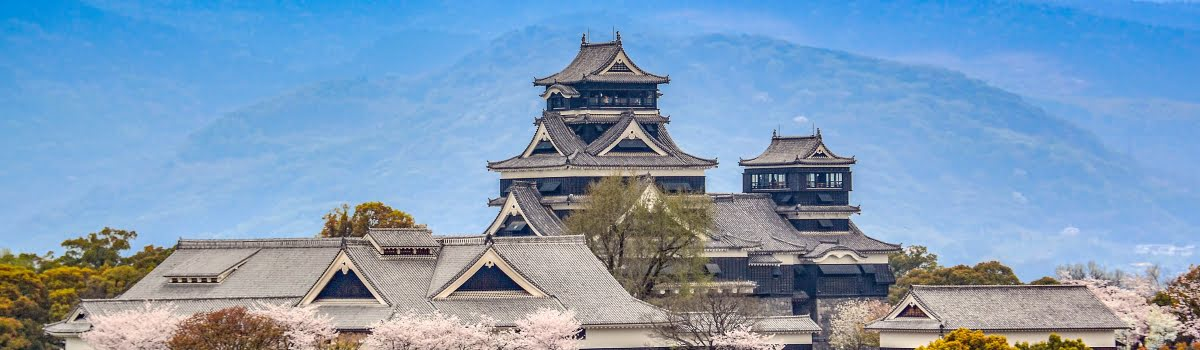 Things to do in Kyushu-Featured photo (1200x350) Kumamoto Castle