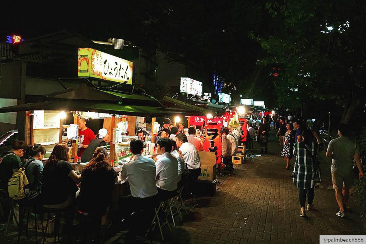 Things to do in Kyushu-Japan-Yatai Street
