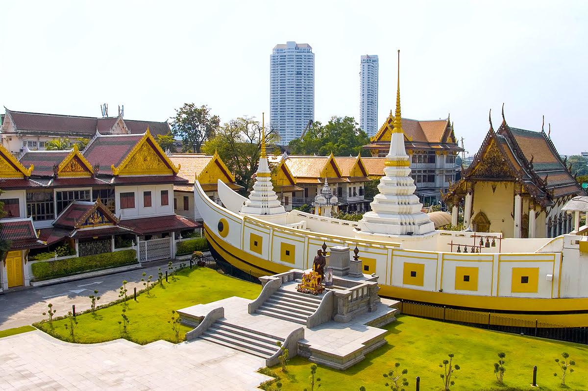 Bangkok vacation rentals-holiday homes-Thailand-Wat Yannawa-Blue Elephant cooking school and restaurant