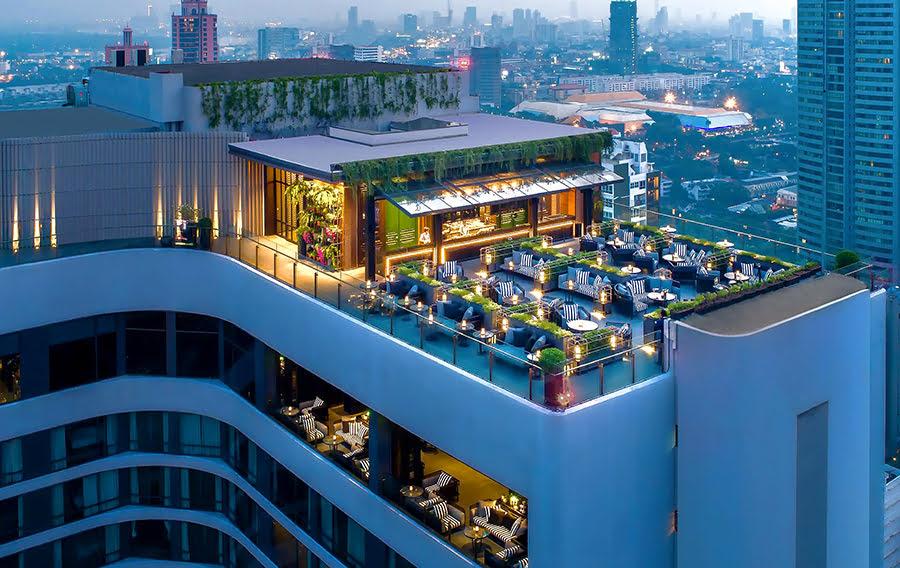 Hotels in Bangkok-Thailand-massage-Bangkok Marriott Marquis Queen's Park