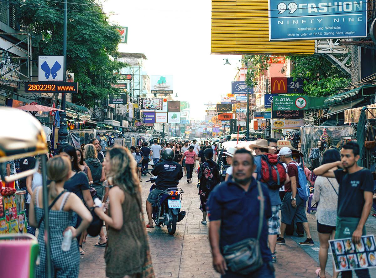 Du lịch Băng Cốc-Thái Lan-Đường Khao San